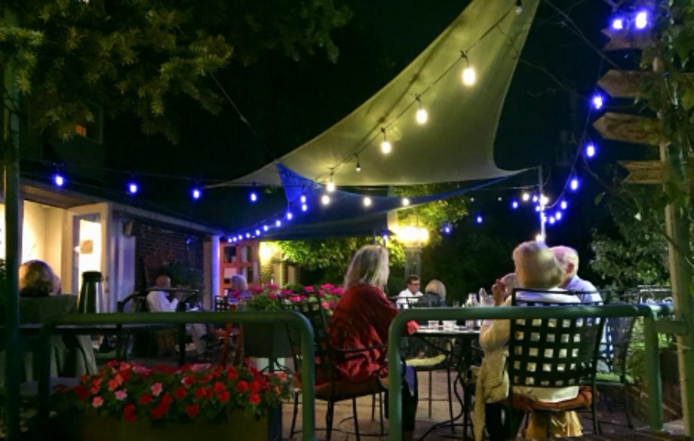 Big Sky Cafe Outdoor Dining