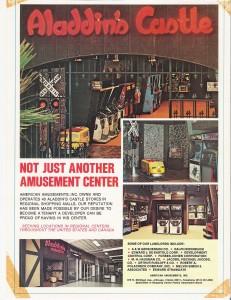 Aladdin's Castle 1970's