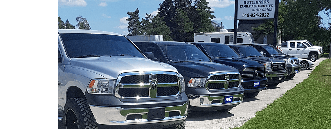Large Selection of Trucks for Sale