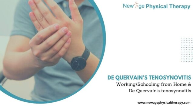 Working/Schooling from Home and De Quervain's Tenosynovitis