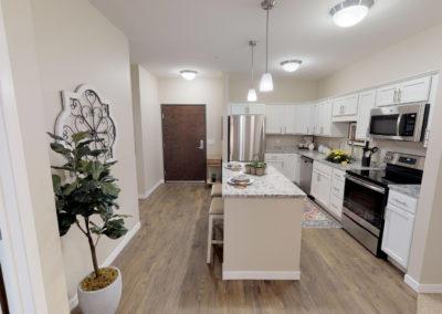 Havenwood of Burnsville Senior Living Apartment Kitchen