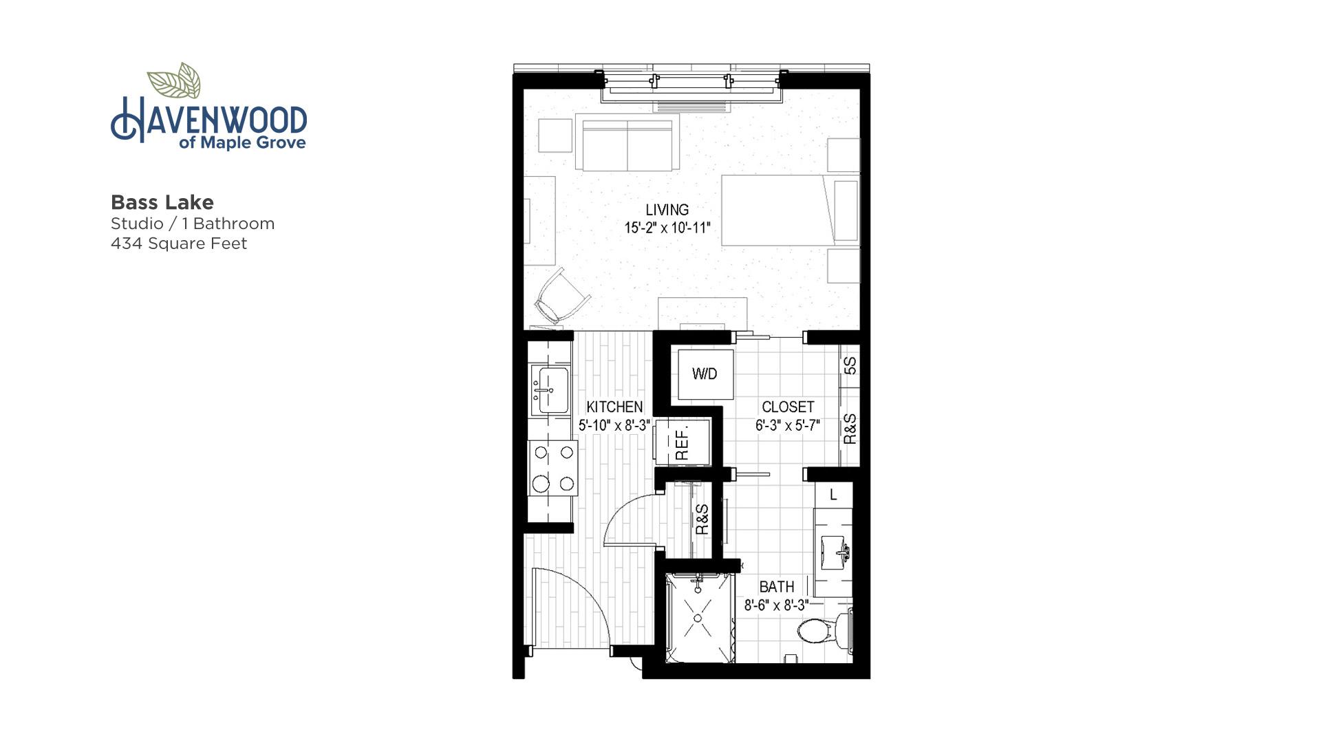 Havenwood of Maple Grove Bass Lake Floor Plan