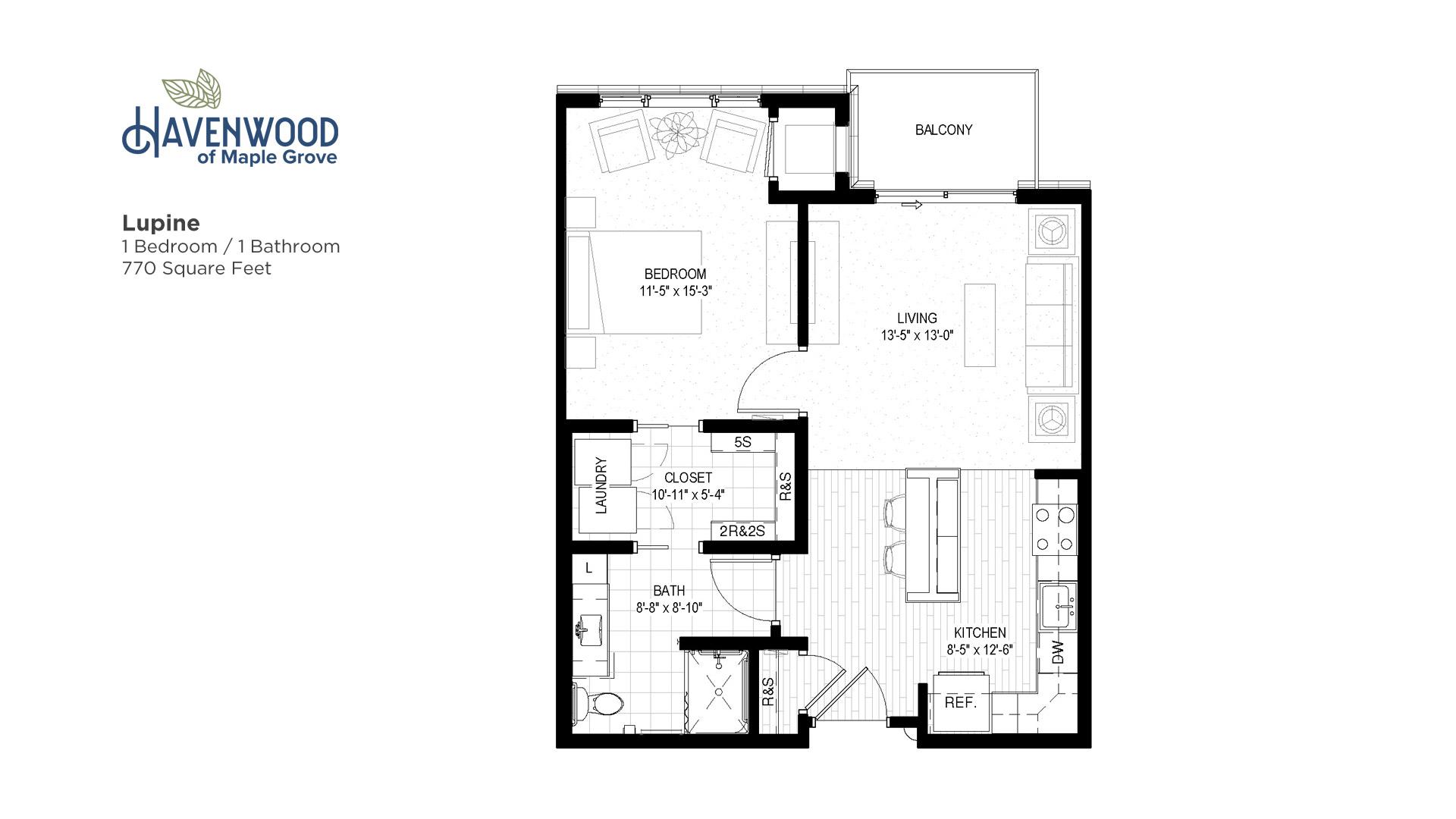 Havenwood of Maple Grove Lupine Floor Plan