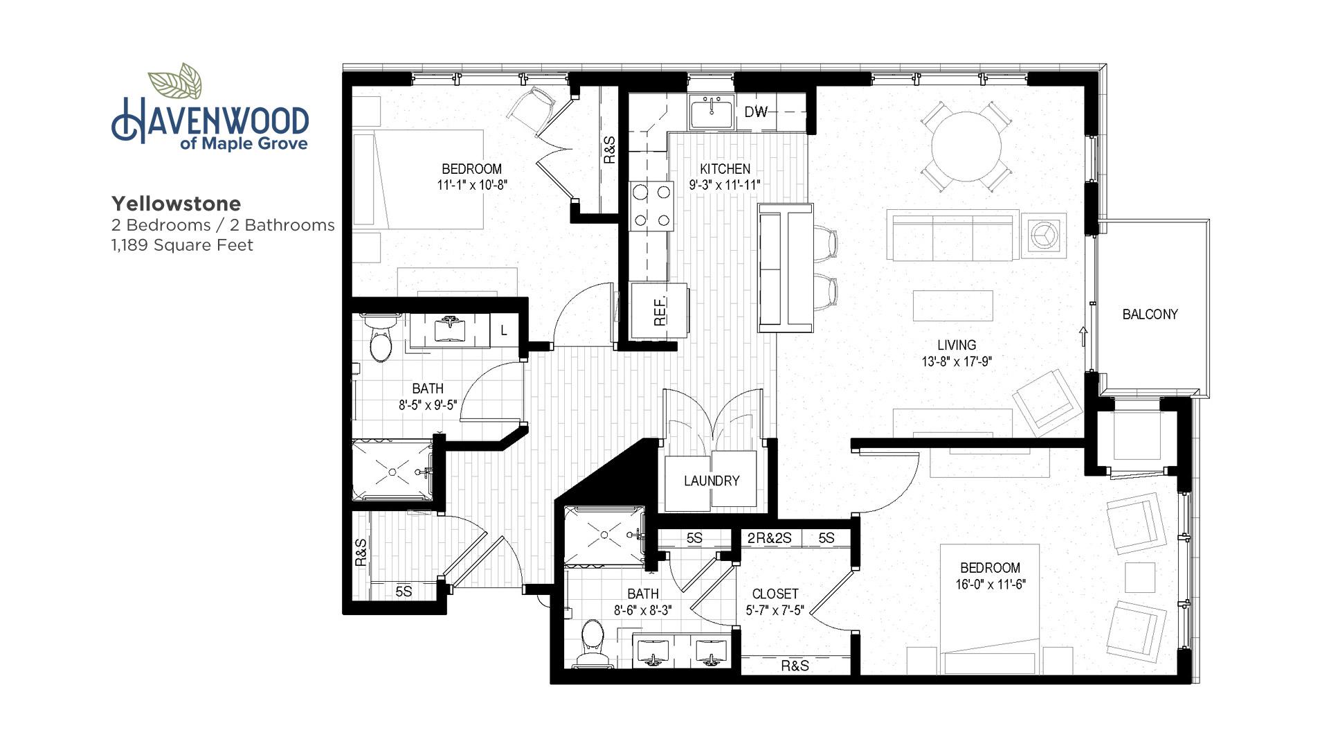 Havenwood of Maple Grove Yellowstone Floor Plan