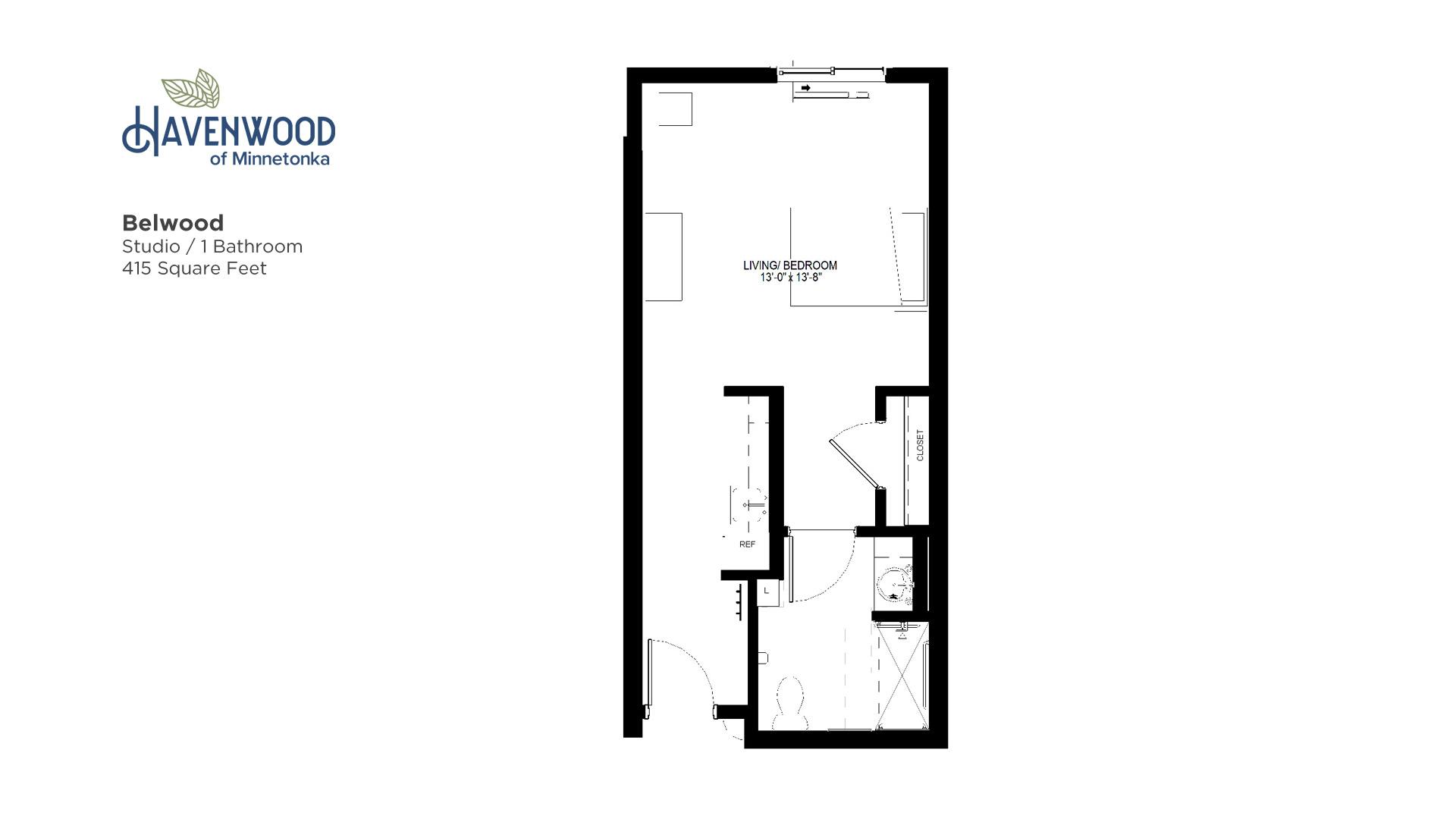 Havenwood of Minnetonka Belwood Floor Plan