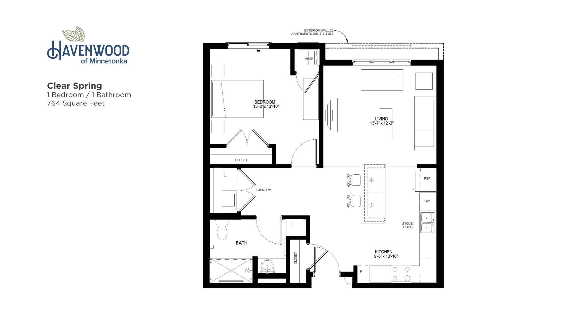 Havenwood of Minnetonka Clear Spring Floor Plan