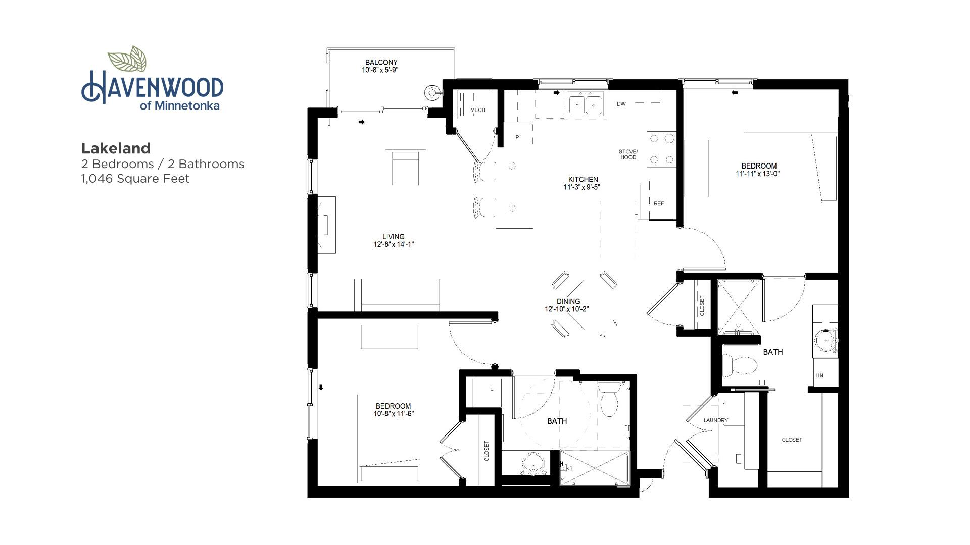 Havenwood of Minnetonka Lakeland Floor Plan