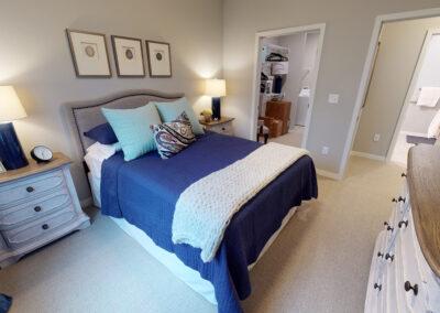 Havenwood Maple Grove model bedroom