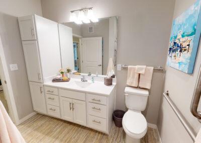 Havenwood MG model bathroom