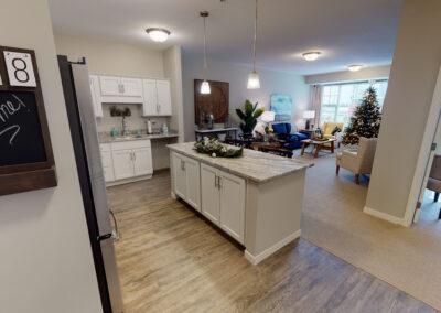 Maple Grove model kitchen