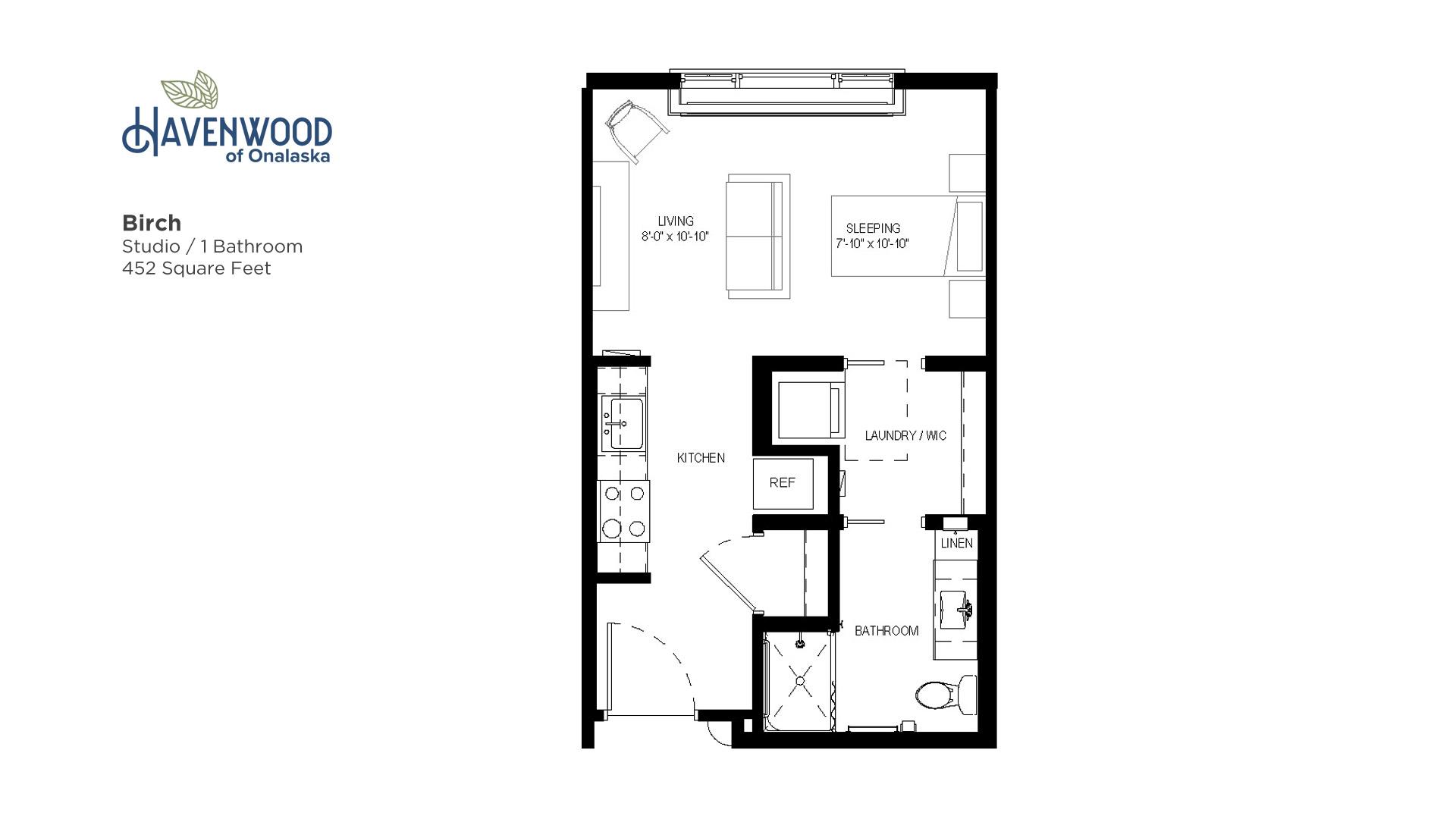 Havenwood of Onalaska Birch Floor Plan
