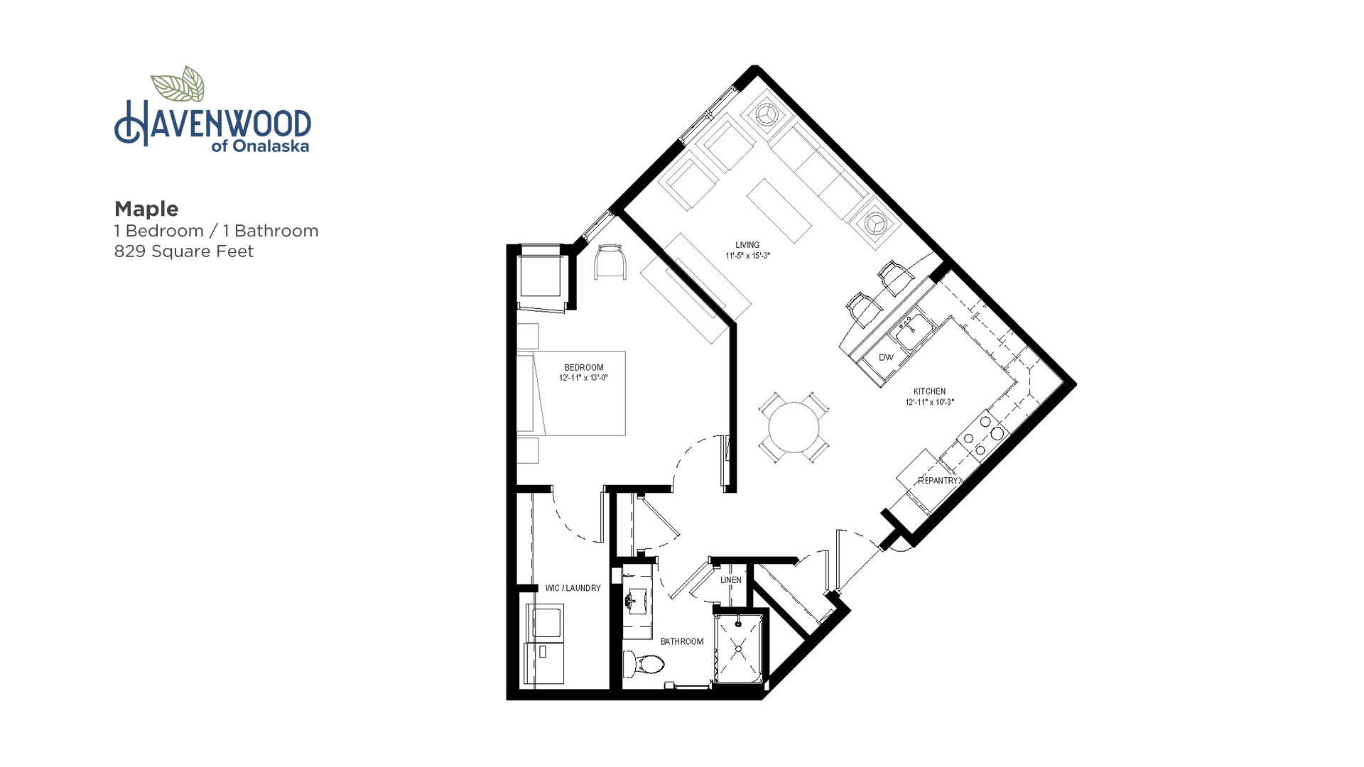 Havenwood of Onalaska Maple Floor Plan