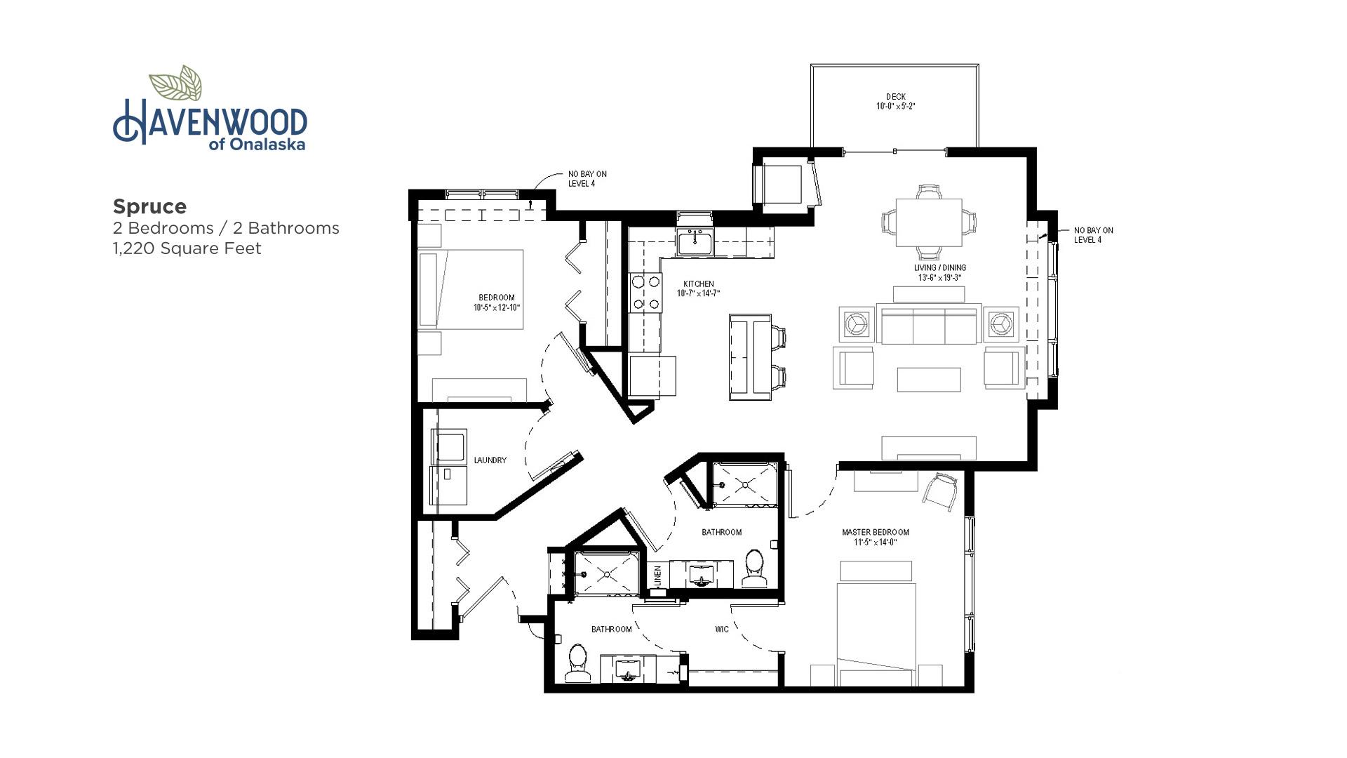 Havenwood of Onalaska Spruce Floor Plan