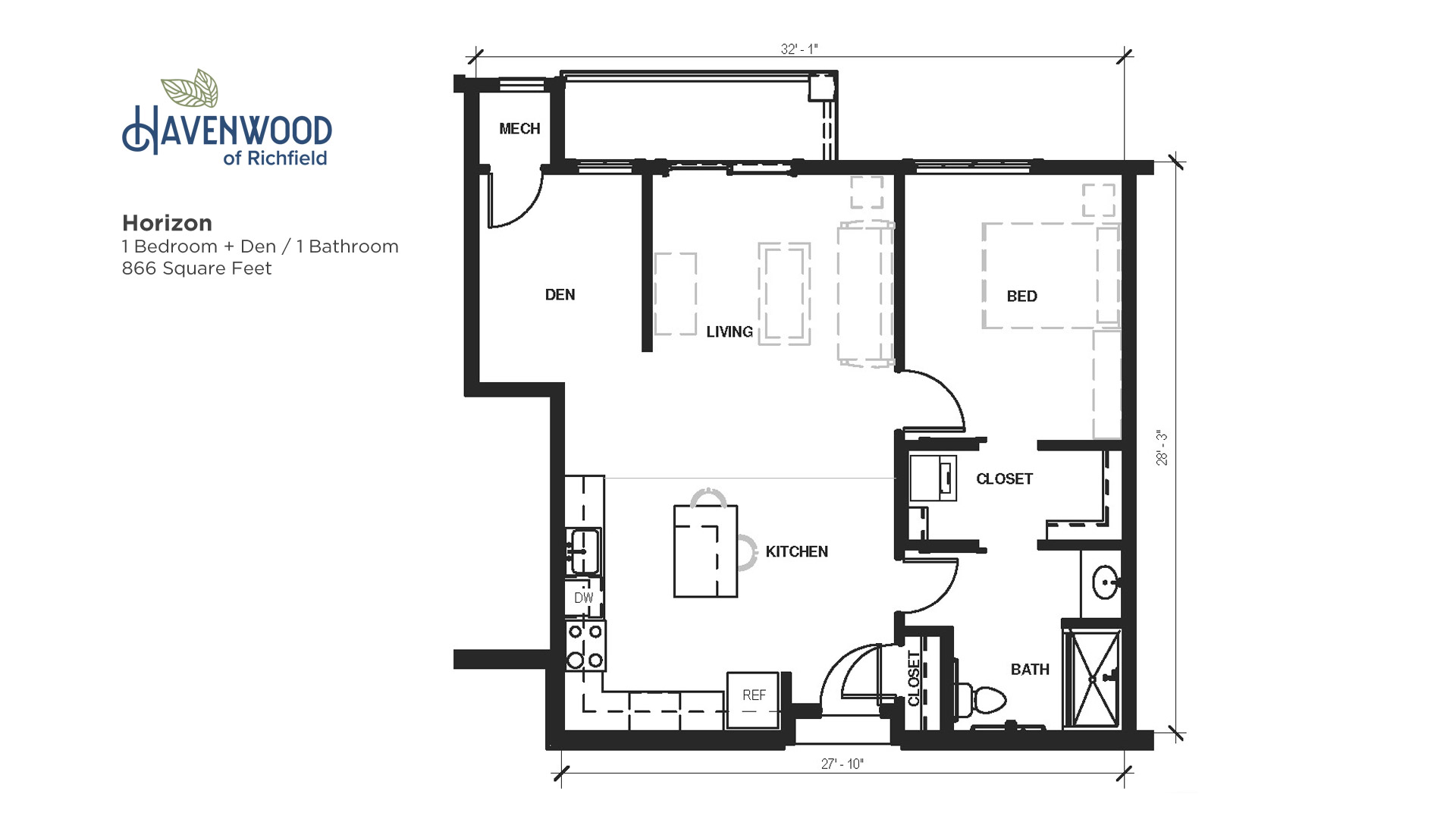 Havenwood of Richfield Horizon Floor Plan