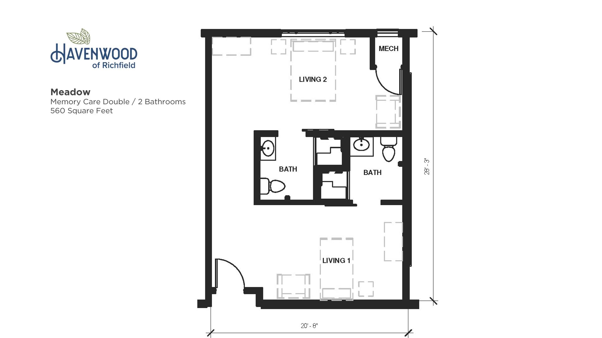Havenwood of Richfield Meadow Floor Plan