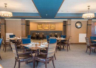 Havenwood of Minnetonka Restaurant Dining Area