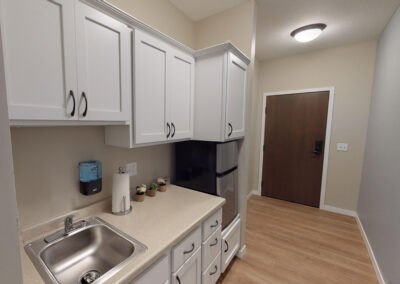 Havenwood of Minnetonka Memory Care Apartment Kitchenette