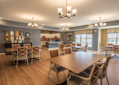 Havenwood of Minnetonka Memory Care Community Room