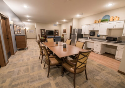 Havenwood of Minnetonka Memory Care Social Room