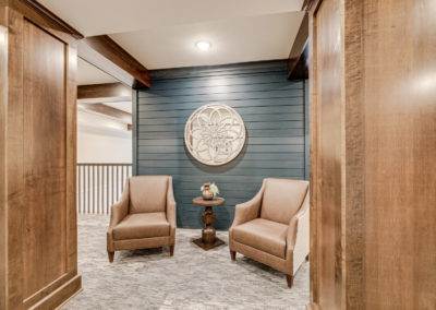 Havenwood of Onalaska Lobby Sitting Area