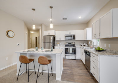 Havenwood of Onalaska Senior Living Apartment Kitchen