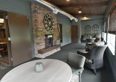 Havenwood of Richfield Fireplace Porch