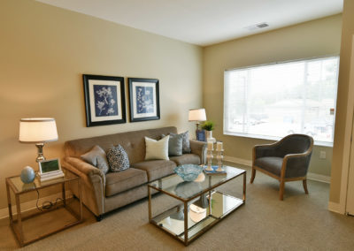 Havenwood of Richfield Living Room in Apartment