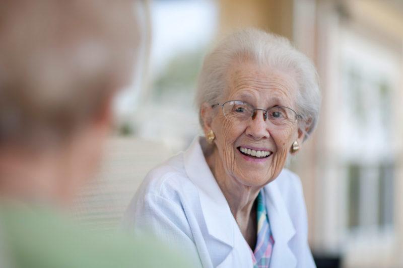 Memory Care Resident
