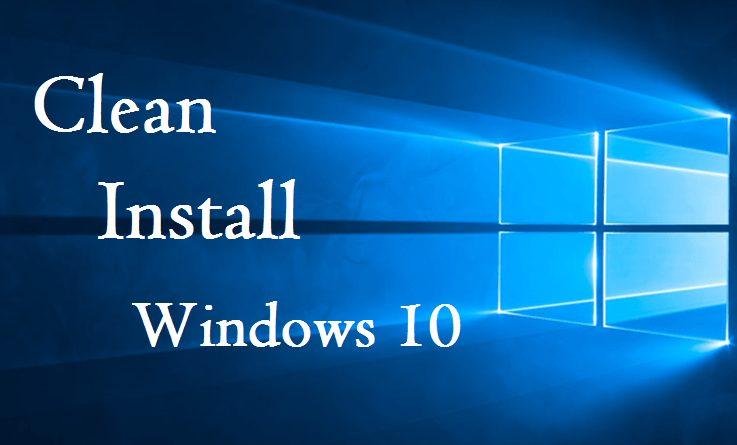 Windows 1607 Anniversary Update Windows 10 New Installation