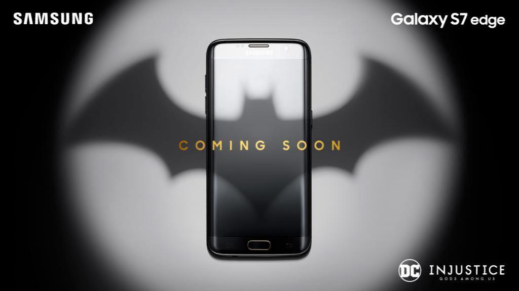 Samsung S7 edge DC injustice Gods among us Edition phone