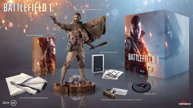 battlefield 1 collector editon