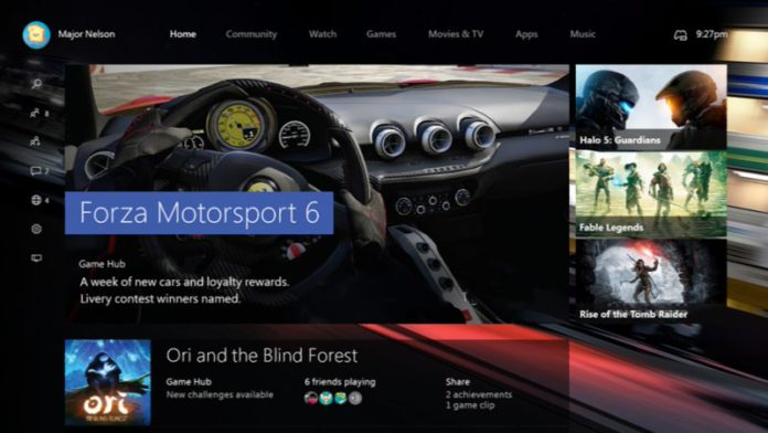 Xbox One Preview build