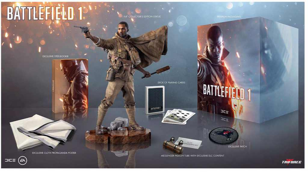 Battlefield 1 Exclusive Collector's Edition