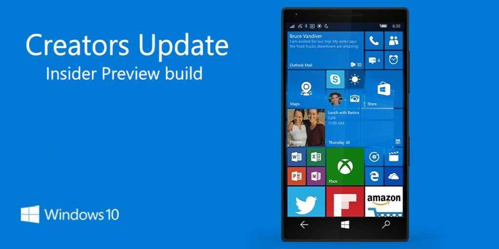 Windows 10 mobile build 10.0.15025.1000 build 10.0.14971.1000 build 10.0.14977.1000