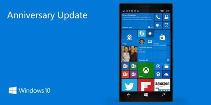 Windows 10 Mobile build 10.0.14393.594