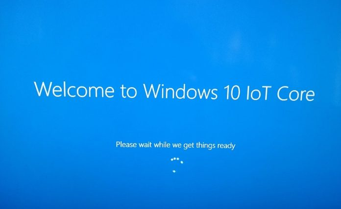 Windows 10 IoT Core build 17015