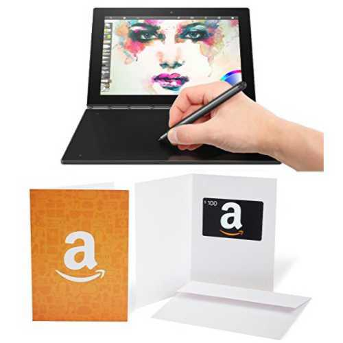 Lenovo Yoga Book for $549.99 with free $100 Amazon Gift Card