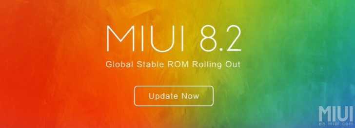 MIUI 8.2 for Xiaomi Mi Mix and Mi Note 2
