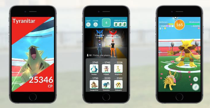 Pokemon Go Raid Battles and New Gym Features Sihmar (3)