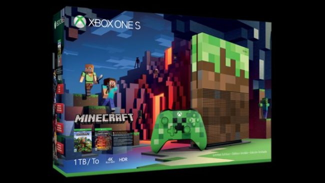 Xbox One S Minecraft Limited Edition Bundle Preorder Sihmar (2)