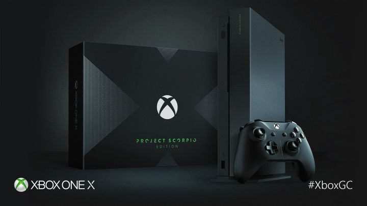 Xbox One X Project Scorpio Edition Preorder sihmar