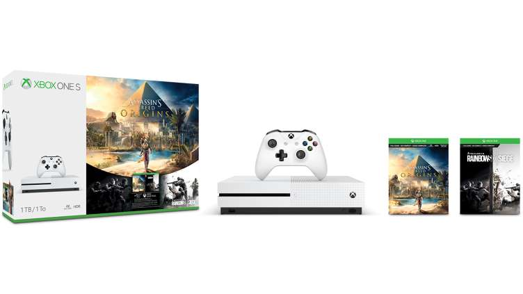 Xbox One S Assassin's Creed Origins Bonus Bundle (1)