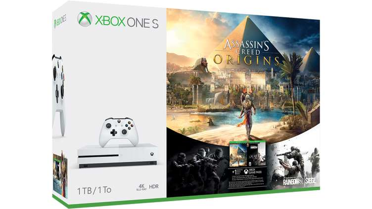 Xbox One S Assassin's Creed Origins Bonus Bundle (2)