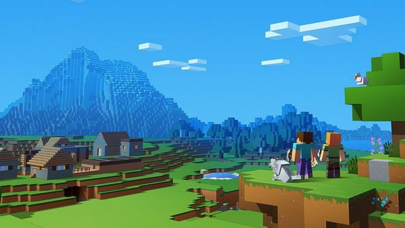 Minecraft Update 1.65 for PS4