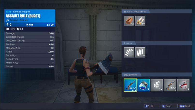 Fortnite 1.32 new inventory UI image