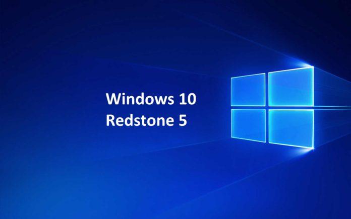 Windows-10 version 1809 Redstone 5 by sihmar