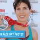 2017 3M Half Marathon finisher with medal