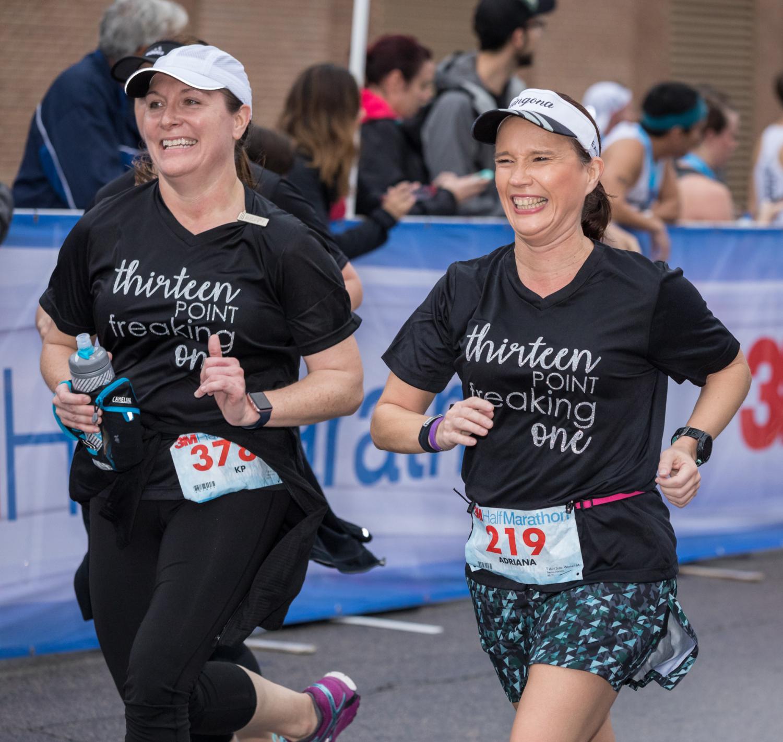 Build your 3M Half Marathon team and make matching shirts!