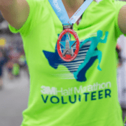 2019 3M Half Marathon volunteer team