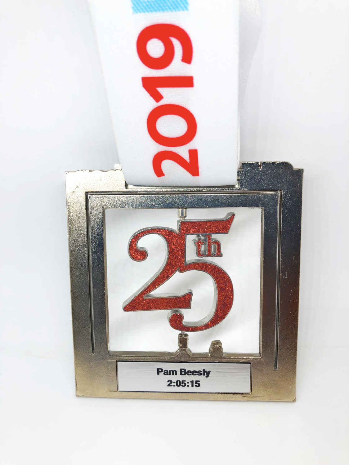 Register for 2020 3M Half Marathon on May 1st and you'll get a free personalized nameplate!